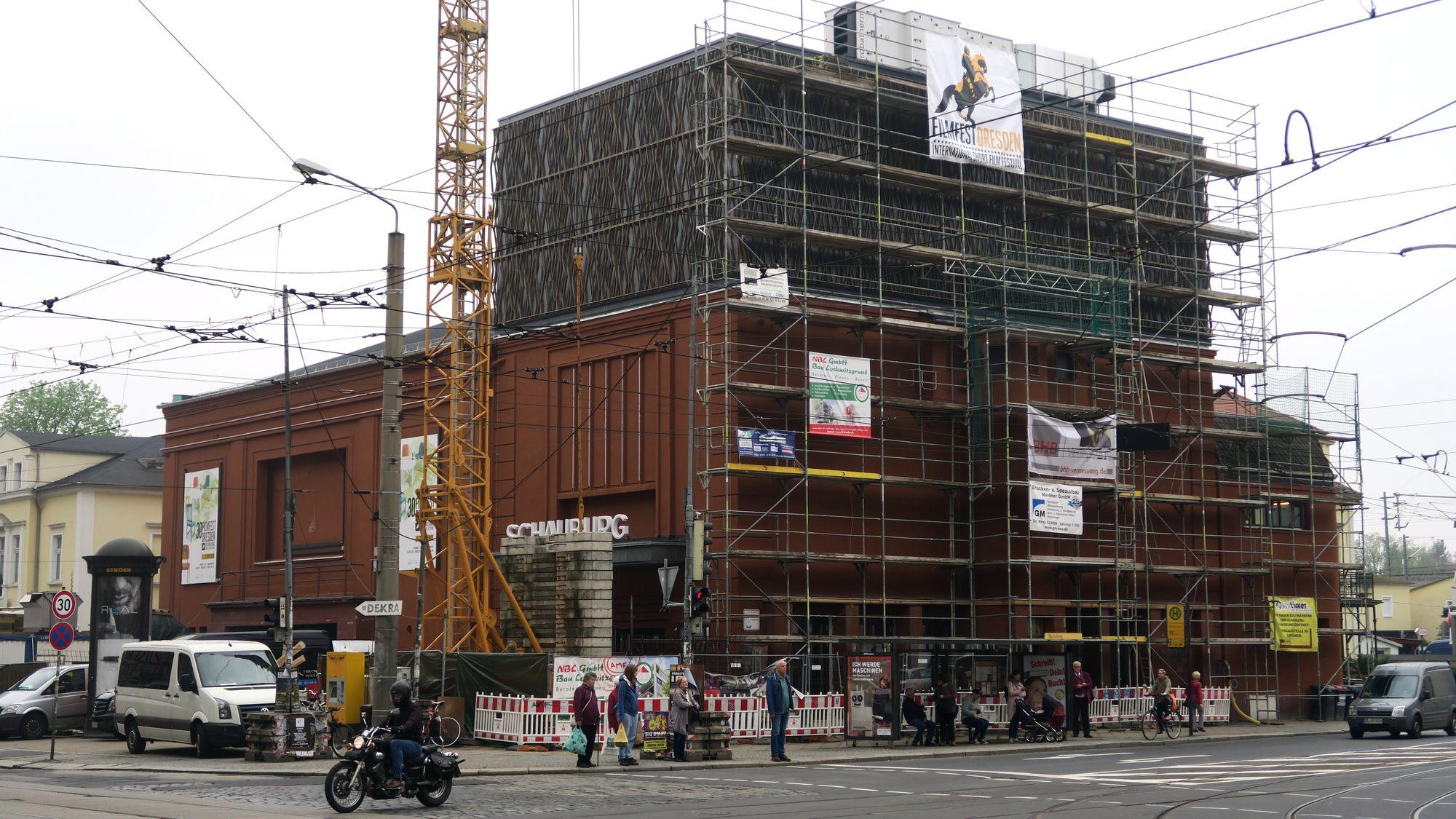 Festival-Kino Schauburg - Das Kino mit dem Kran.
