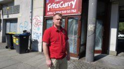 Ronny Rehm leitet das FritzCurry auf der Alaunstraße. Eröffnung am 4. Mai.