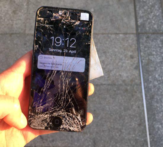 Gefundenes iPhone