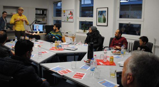 Aufftakttreffen von IDA und den Malteser Integrationslotsen