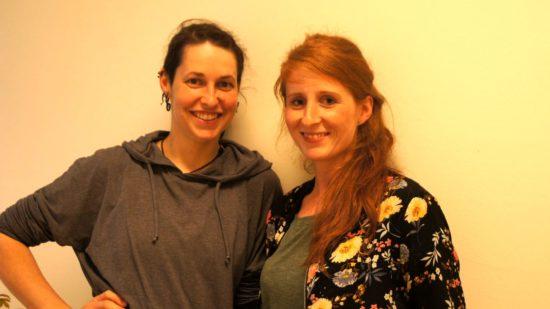 Daniela und Anne-Katrin geben ehrenamtlich neben ihren Jobs alles für den Verein