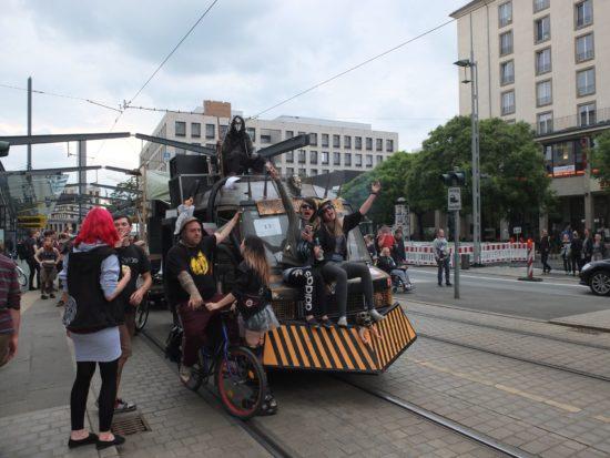 Ein Wagen der Tolerade 2017. Foto: André Brödner
