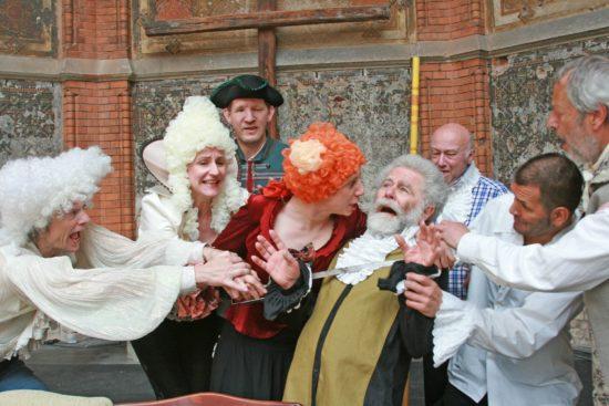 Molière unterm Glasdach. Foto: PR/Pauliruine
