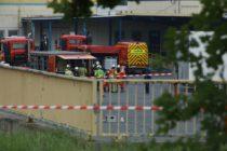 Auf dem Gelände eines Logistikdienstleisters war eine gefährliche Flüssigkeit ausgelaufen.