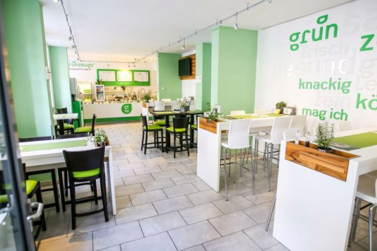 Grünzeugs - Salatbar und mehr in der Rähnitzgasse