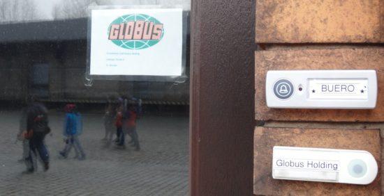Die Globus-Holding hat ein Büro auf ihrem Gelände am Alten Leipziger Bahnhof. Foto: W. Schenk