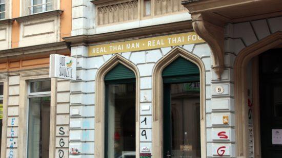Hot Shüzzle auf der Rothenburger Straße