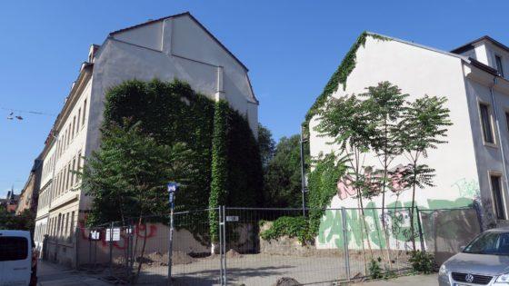 Talstraße/Ecke Schönfelder ist jetzt ganz hübsch aufgeräumt.