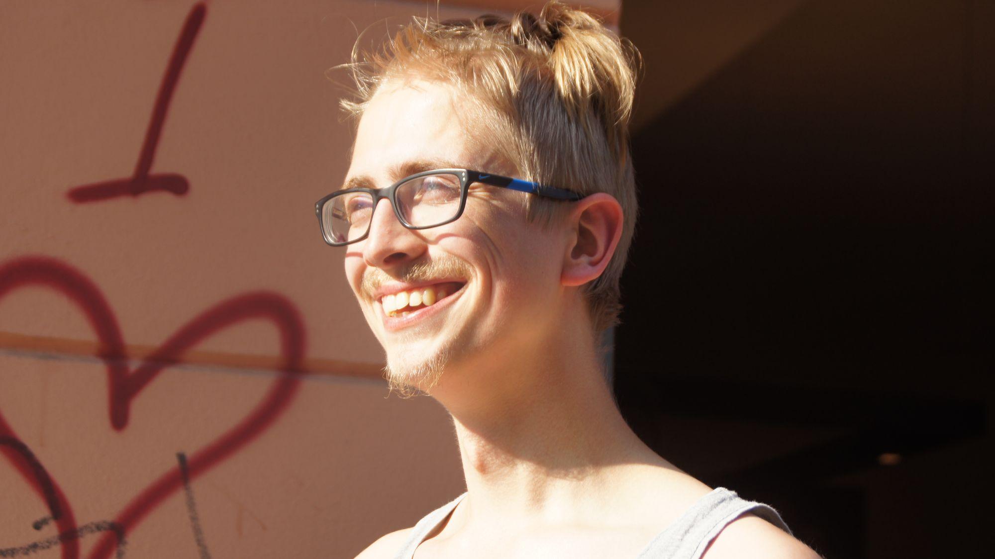 """Christoph Gregori vom Patenprojekt """"Balu und Du"""""""