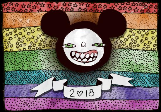 """Das aktuelle BRN-Logo wurde dieses Jahr von dem Künstler """"Josef Panda"""" entworfen."""