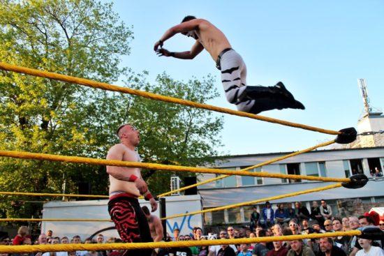 Wrestling am Alten Heizhaus - Foto: Linda Scholz