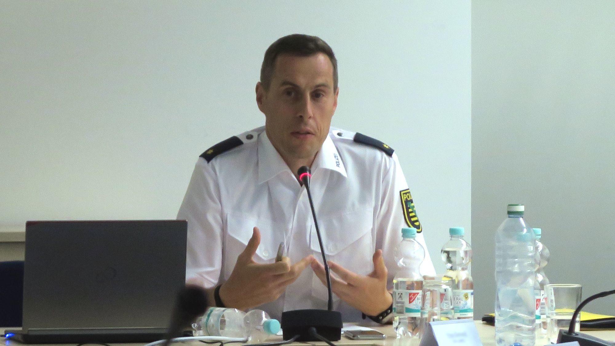 Revierleiter Matthias Imhof