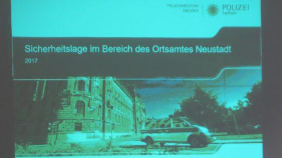 Kriminalstatistik für die Neustadt