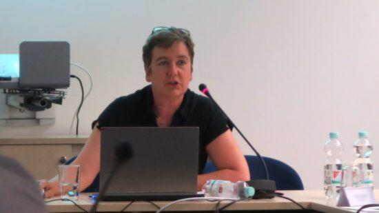 Halina Starkloff vom Grünflächenamt skizzierte gestern Abend im Ortsbeirat die Pläne.
