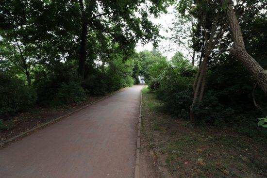 Ob der steile Weg zur Tannenstraße dann erhalten bleibt, ist derzeit noch unklar.