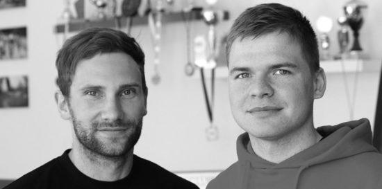 Die Rad-Lehrer: Stefan Scherz und Benjamin Ehrlich