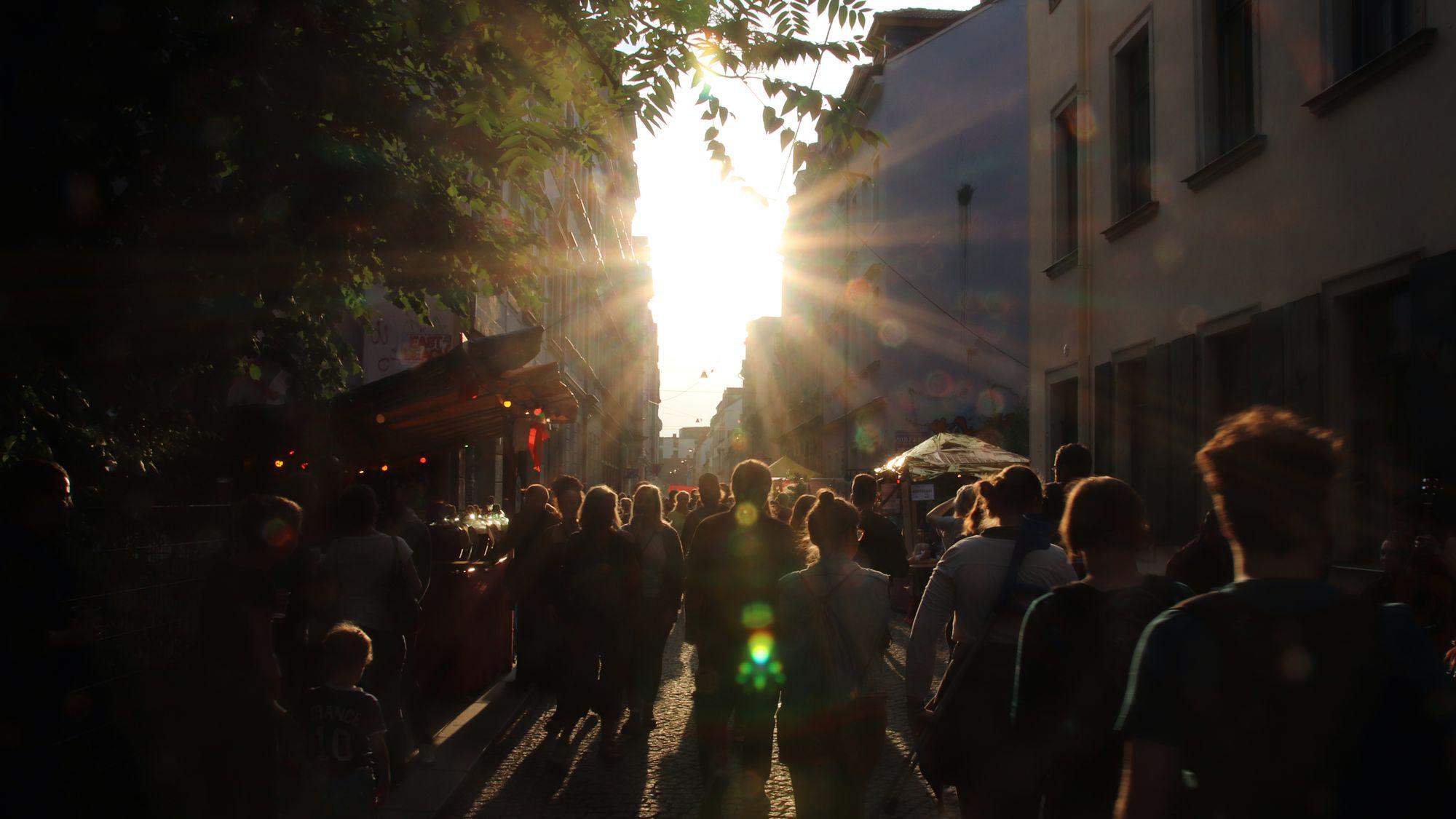 Eindrücke von der Böhmischen Straße