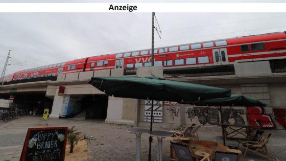 Vom Café nach Meißen: Mit der S-Bahn geht das fix.