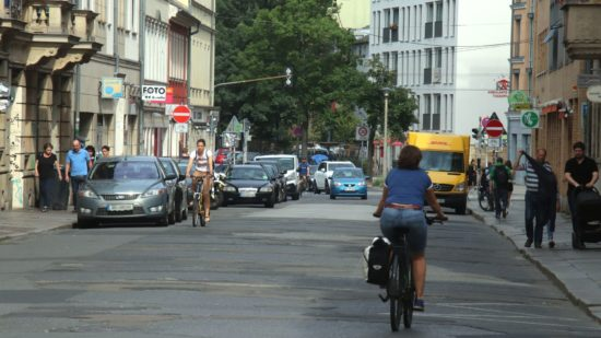 Westende der Louisenstraße wird saniert.