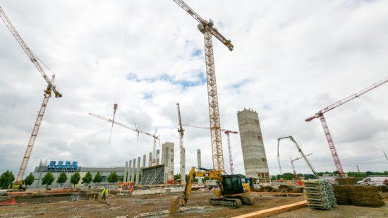 Am 25. Juni war die Grundsteinlegung. Foto: Bosch