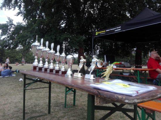 Jede Menge Pokale wurden vergeben.