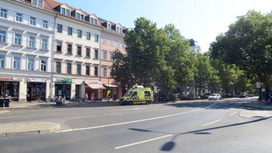 Der Ausbau ist nur bis zur Ausfahrt der kleinen Bautzner Straße geplant.