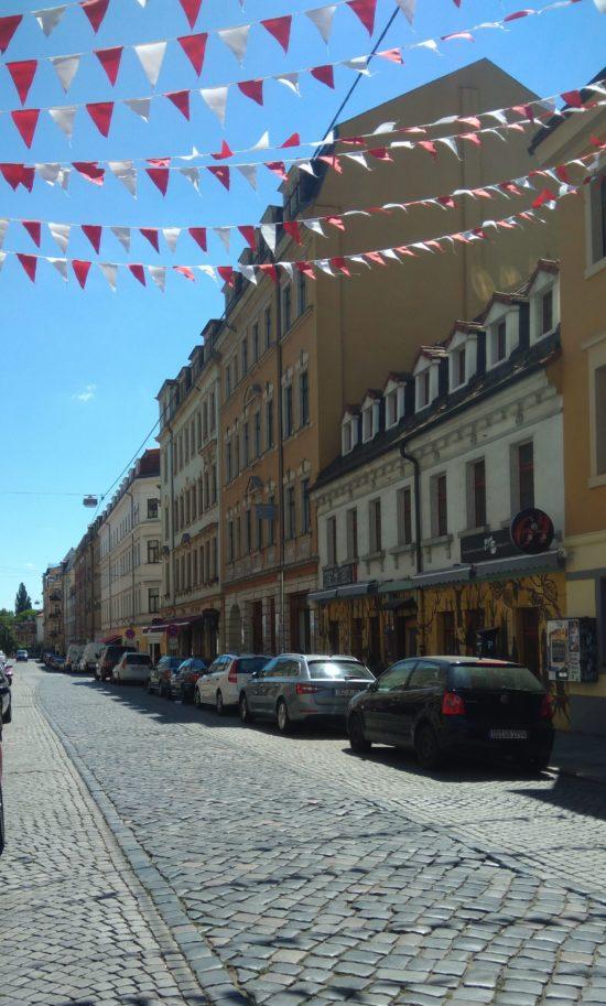 Holperpflaster auf der Louisenstraße