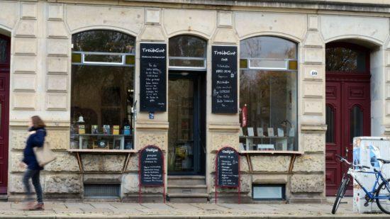 Als der Buchladen Treibgut noch geöffnet hatte. Foto: Archiv/November 2017