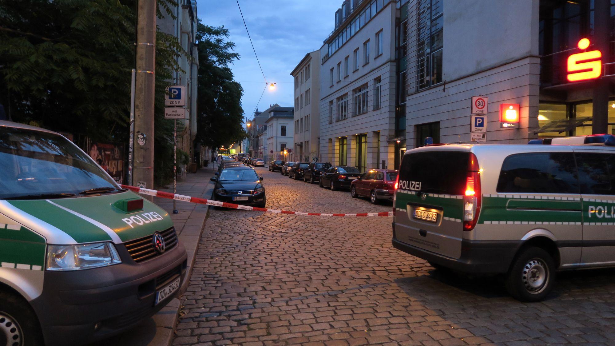 Großrazzia Auf Der Alaunstraße Neustadt Geflüster