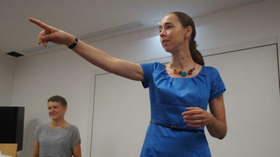 Gesundheitsbürgermeisterin Dr. Kristin Klaudia Kaufmann erteilt das Wort