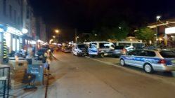 Polizeieinsatz am Mittwochabend