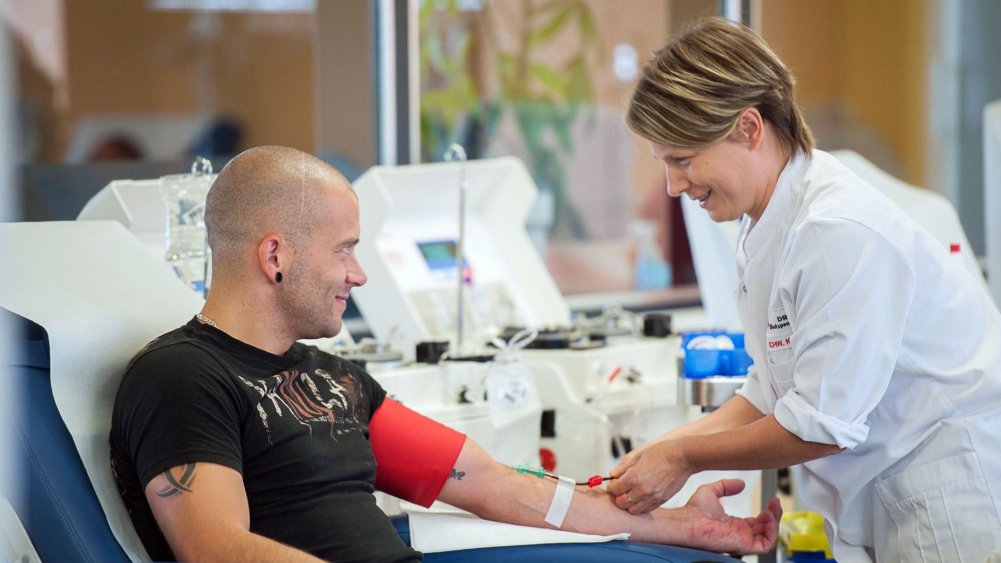 Blutspender - Foto: PR