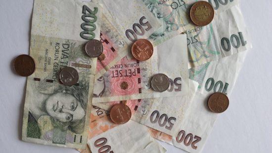 Tschechische Währung: Kronen