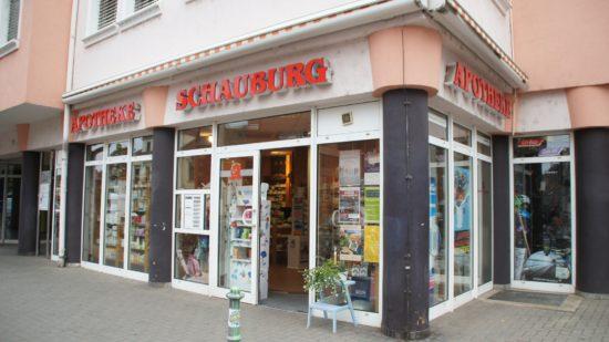 Am Platz seit 1993: Die Schauburg-Apotheke