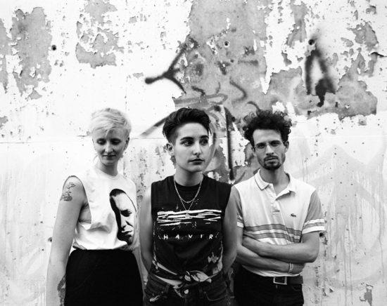 Decibelles Fanny Bouland, Sabrina Pedro und Guillaume Dante Carle (v.l.)