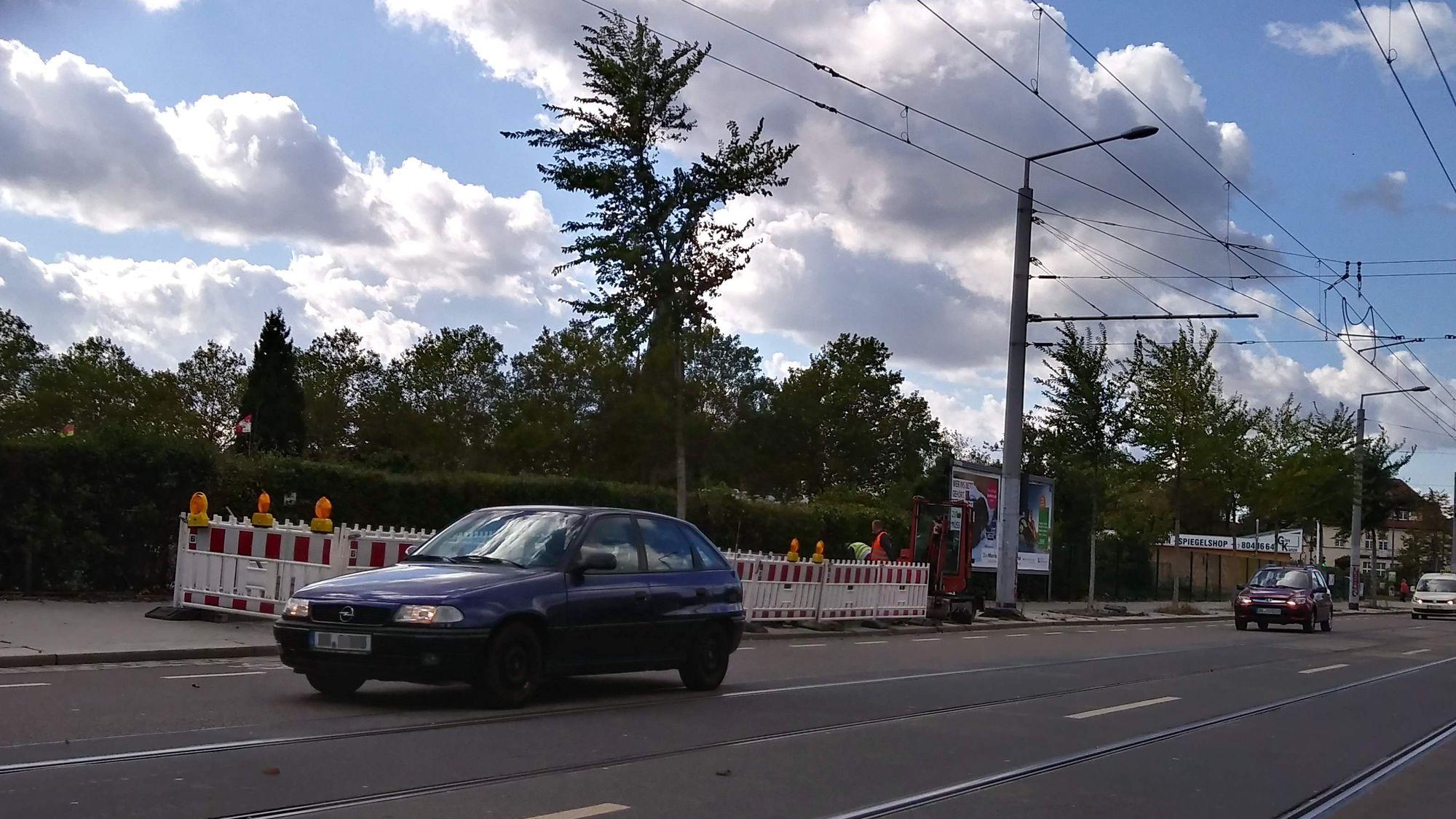 Neue Ampeln für die Fritz-Reuter-Straße.