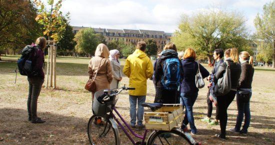 Die ZuhörerInnen reisten im Rahmen eines Teamtages aus Lübben an