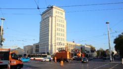 Baustart am Albertplatz