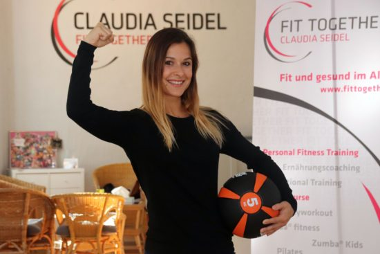 Macht andere fit: Claudia Seidel