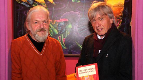 Illustrator Jürgen Dreißig und Märchenerzähler Uwe Garten