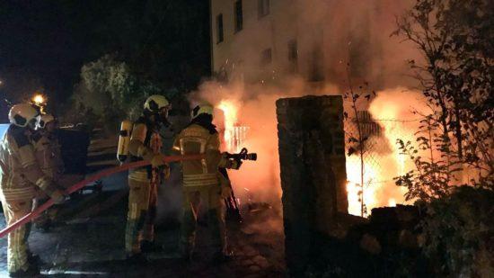 Die Feuerwehr konnte Schlimmeres verhindern. Fotos: Konstantin D.