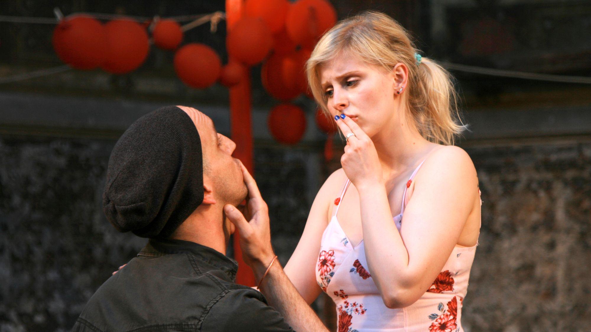 Lysander und Hermia - Foto: Ronny Geißler