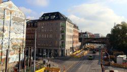 Bauarbeiten am Bischofsplatz