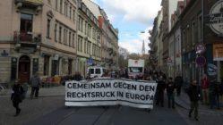 Demo auf der Görlitzer Straße