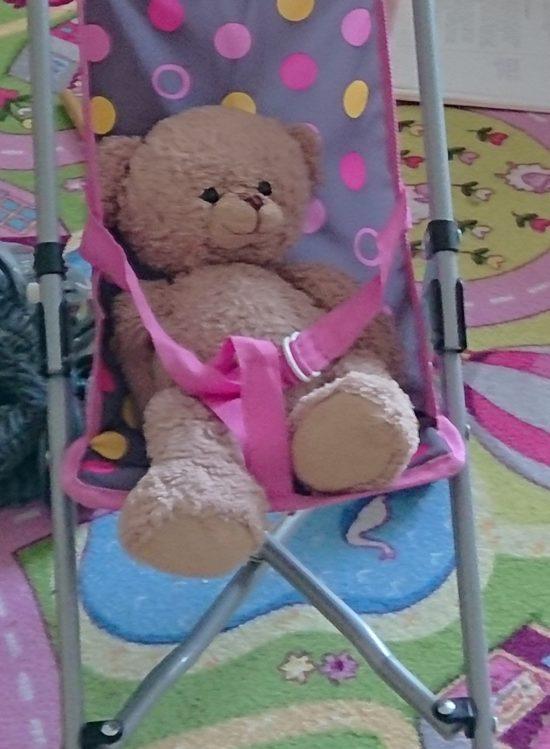 Verlorener Teddy
