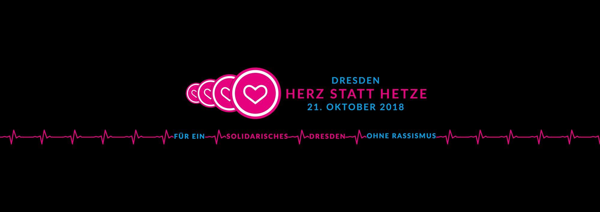 Auf die für Solidarität in Dresden