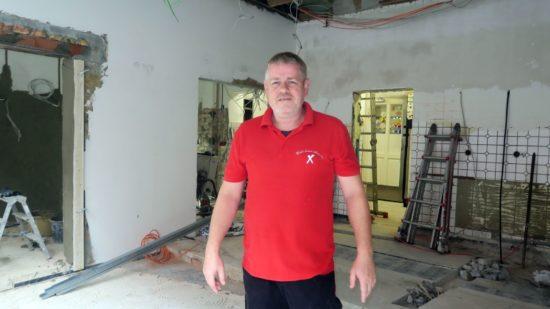 Leitet aktuell den Umbau: Fleischermeister Sven Creutz