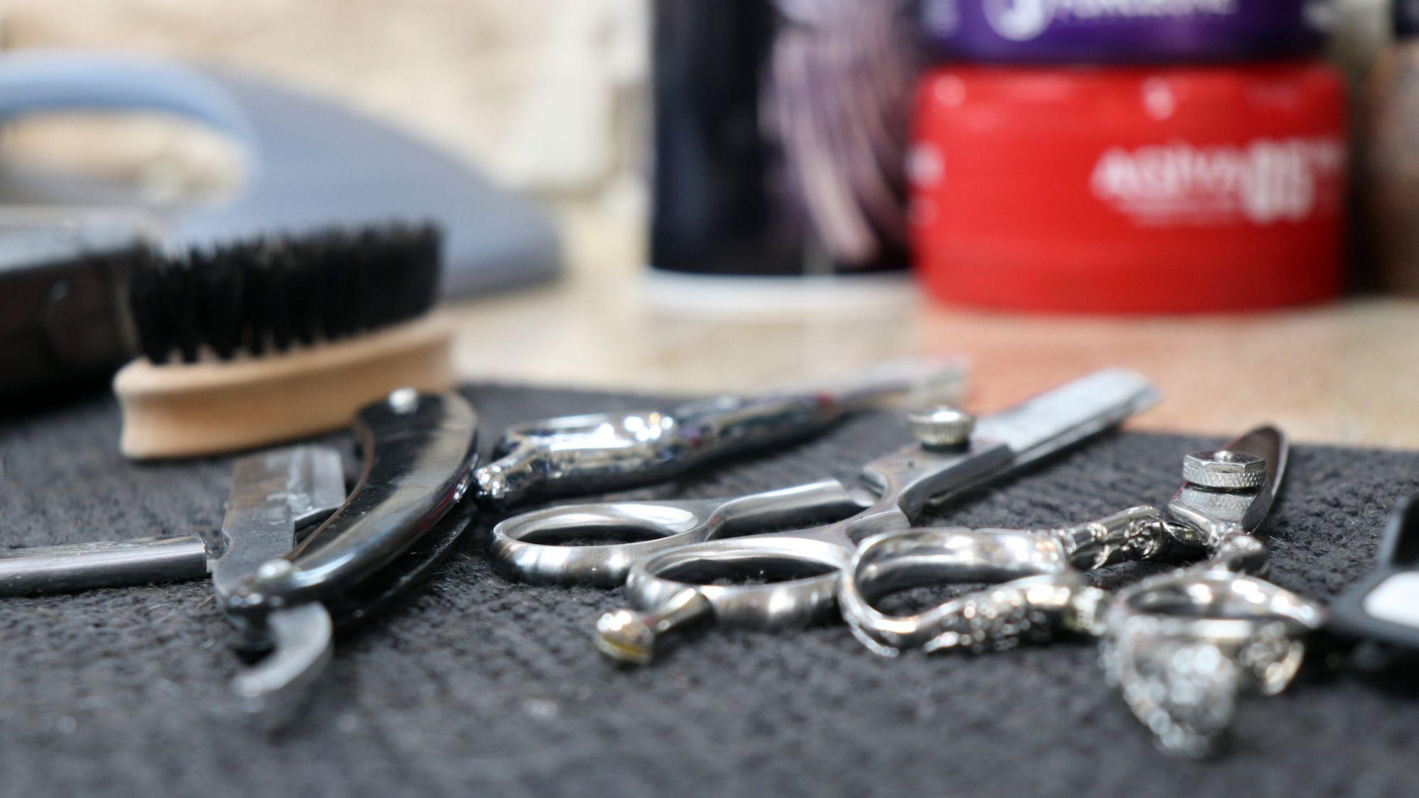Barbier-Zubehör