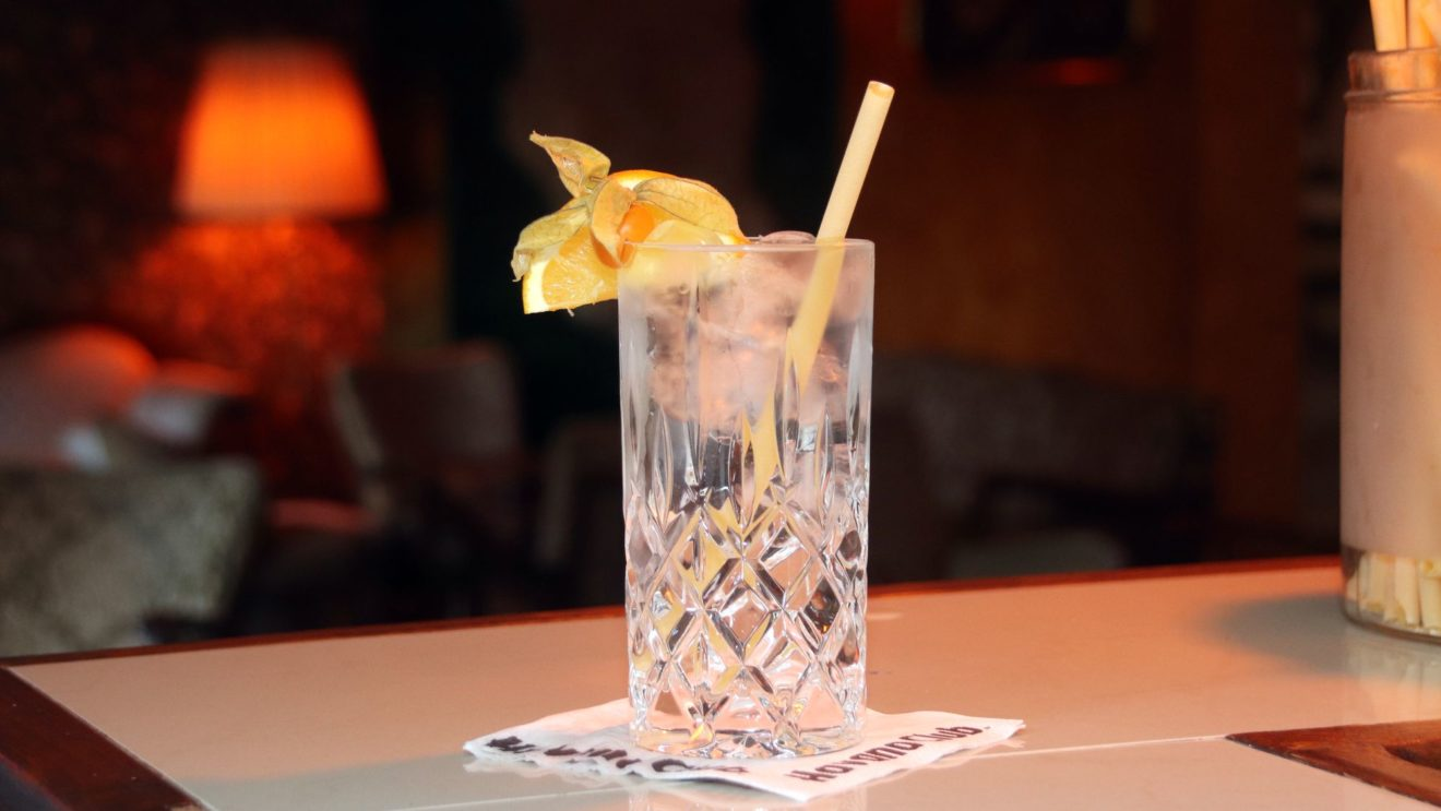 Pastahalm im Cocktail