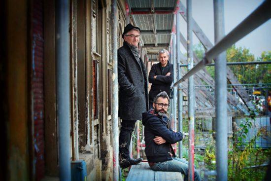 Stadtluft-Herausgeber: Thomas Walther, Amac Garbe, Peter Ufer  – Foto: Amac Garbe